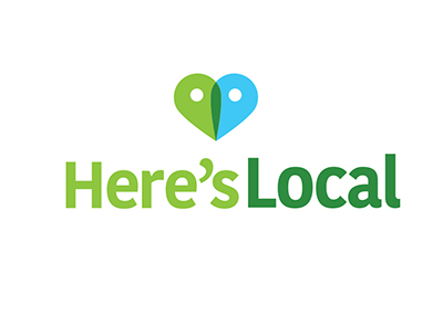 Here's Local Logo
